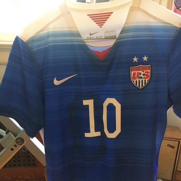 new product be2e1 c775c Carli Lloyd USWNT USA soccer jersey